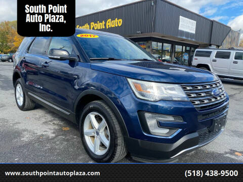 2017 Ford Explorer for sale at South Point Auto Plaza, Inc. in Albany NY