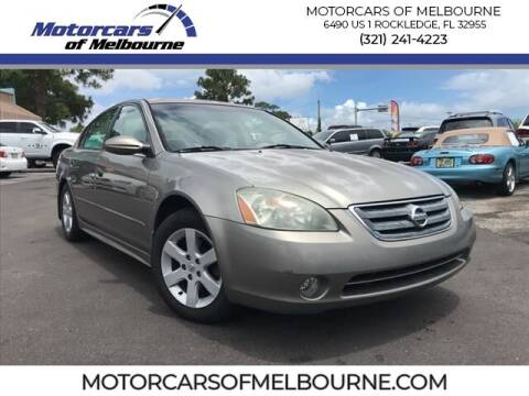 2003 Nissan Altima for sale at Motorcars of Melbourne in Rockledge FL