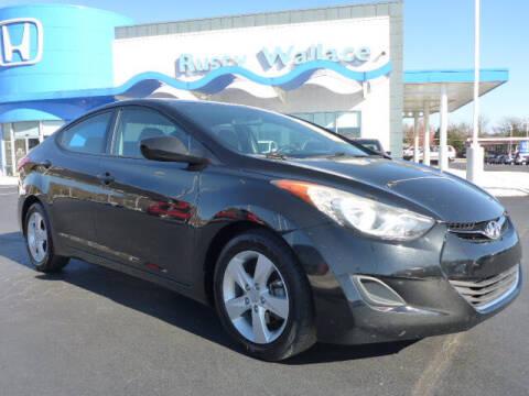2013 Hyundai Elantra for sale at RUSTY WALLACE HONDA in Knoxville TN