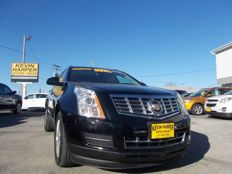 2015 Cadillac SRX for sale at Kevin Harper Auto Sales in Mount Zion IL