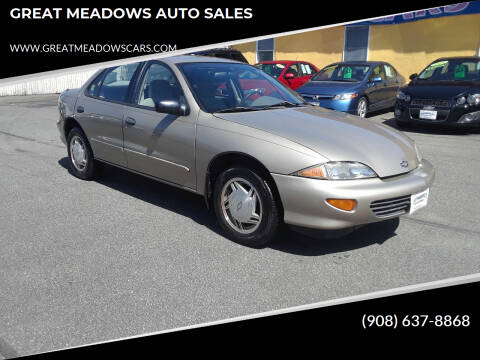 1997 Chevrolet Cavalier for sale at GREAT MEADOWS AUTO SALES in Great Meadows NJ