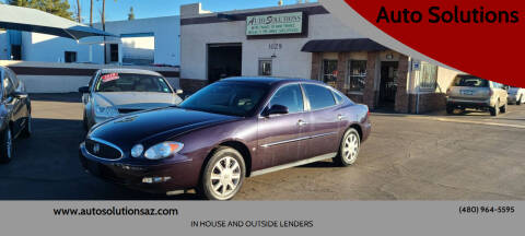 2007 Buick LaCrosse for sale at Auto Solutions in Mesa AZ