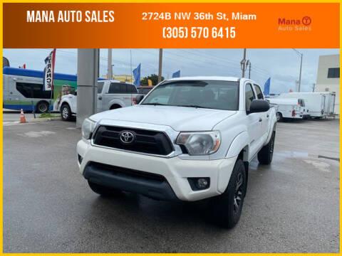 2014 Toyota Tacoma for sale at MANA AUTO SALES in Miami FL