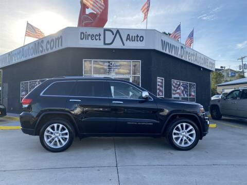 2017 Jeep Grand Cherokee for sale at Direct Auto in D'Iberville MS
