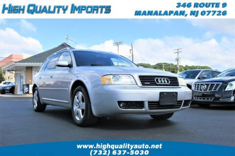 2002 Audi A6 for sale at High Quality Imports in Manalapan NJ