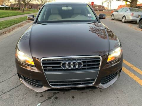 2011 Audi A4 for sale at Via Roma Auto Sales in Columbus OH
