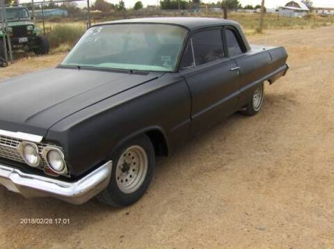 1963 Chevrolet Biscayne for sale at Classic Car Deals in Cadillac MI