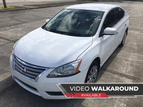 2014 Nissan Sentra for sale at ULTIMATE AUTO IMPORTS in Longwood FL