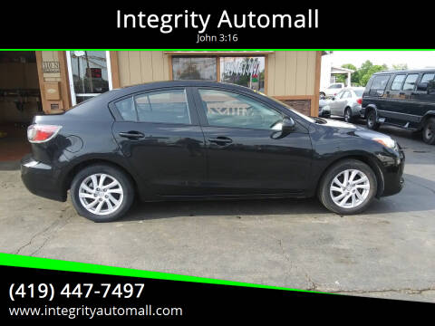 2012 Mazda MAZDA3 for sale at Integrity Automall in Tiffin OH