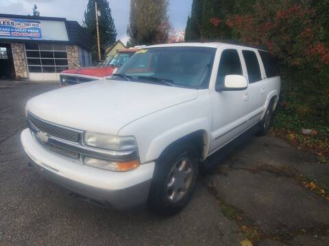 2002 Chevrolet Suburban for sale at Payless Car & Truck Sales in Mount Vernon WA