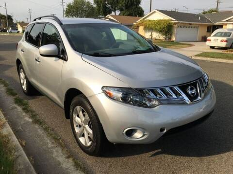 2009 Nissan Murano for sale at Beach Auto Group LLC in Midway City CA