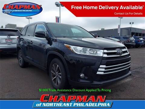 2018 Toyota Highlander for sale at CHAPMAN FORD NORTHEAST PHILADELPHIA in Philadelphia PA