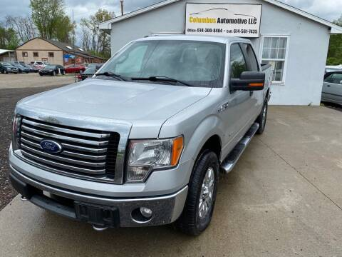 2011 Ford F-150 for sale at COLUMBUS AUTOMOTIVE in Reynoldsburg OH