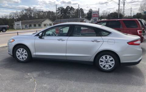 2014 Ford Fusion for sale at Mac's Auto Sales in Camden SC