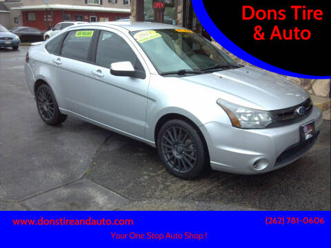 2011 Ford Focus for sale at Dons Tire & Auto in Butler WI