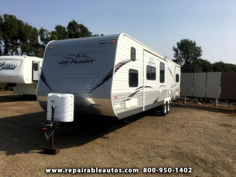 2013 Jayco Jay Flight Repairable Hail Damage - Strasburg ND