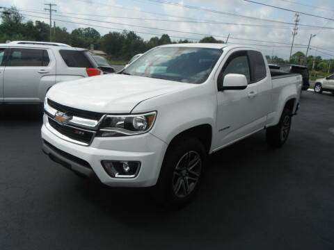 2019 Chevrolet Colorado for sale at Morelock Motors INC in Maryville TN