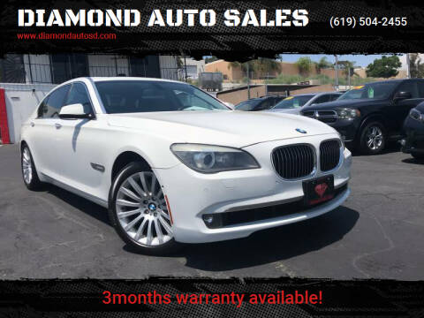 2009 BMW 7 Series for sale at DIAMOND AUTO SALES in El Cajon CA