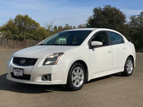 2010 Nissan Sentra for sale at SHOMAN MOTORS in Davis CA