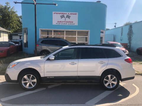 2014 Subaru Outback for sale at Finish Line Motors in Tulsa OK