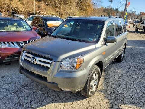 2008 Honda Pilot for sale at FAYAD AUTOMOTIVE GROUP in Pittsburgh PA