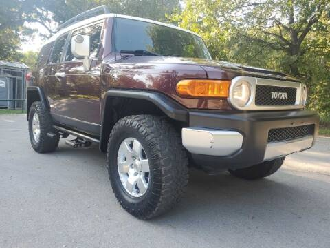 2007 Toyota FJ Cruiser for sale at Thornhill Motor Company in Hudson Oaks, TX