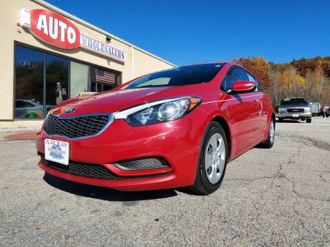2015 Kia Forte for sale at Auto Wholesalers Of Hooksett in Hooksett NH