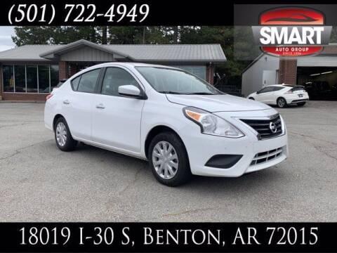 2019 Nissan Versa for sale at Smart Auto Sales of Benton in Benton AR