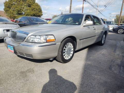 2004 Lincoln Town Car for sale at Peter Kay Auto Sales in Alden NY