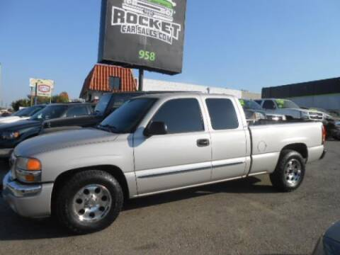 2005 GMC Sierra 1500 for sale at Rocket Car sales in Covina CA