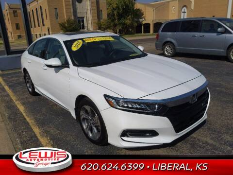 2018 Honda Accord for sale at Lewis Chevrolet Buick Cadillac of Liberal in Liberal KS