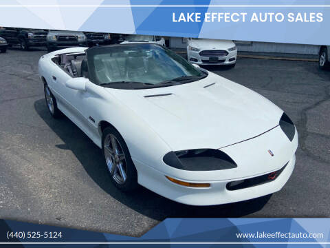 1996 Chevrolet Camaro for sale at Lake Effect Auto Sales in Chardon OH