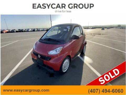 2013 Smart fortwo for sale at EASYCAR GROUP in Orlando FL