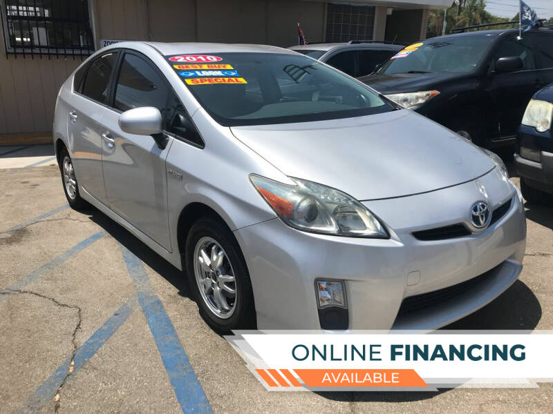 2010 Toyota Prius for sale at ZOOM CARS LLC in Sylmar CA