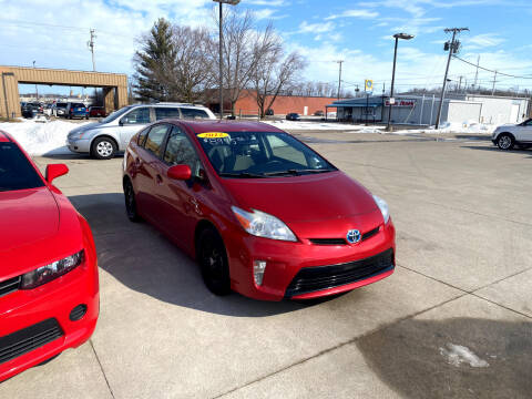 2012 Toyota Prius for sale at Moser Motors Of Portland in Portland IN