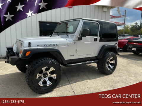 2004 Jeep Wrangler for sale at TEDS CAR CENTER in Athens AL