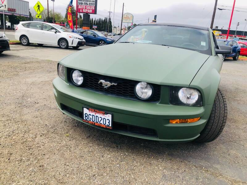 2008 Ford Mustang for sale at City Motors in Hayward CA