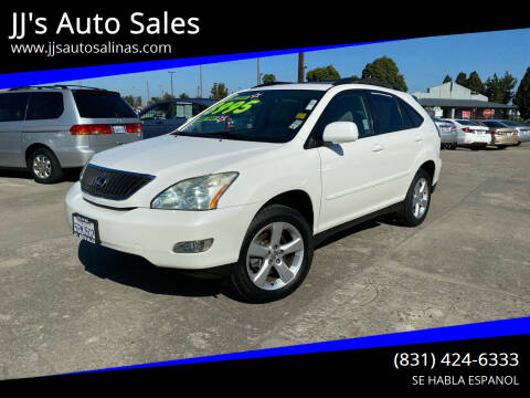 2006 Lexus RX 330 for sale at JJ's Auto Sales in Salinas CA