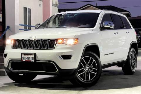 2018 Jeep Grand Cherokee for sale at Fastrack Auto Inc in Rosemead CA