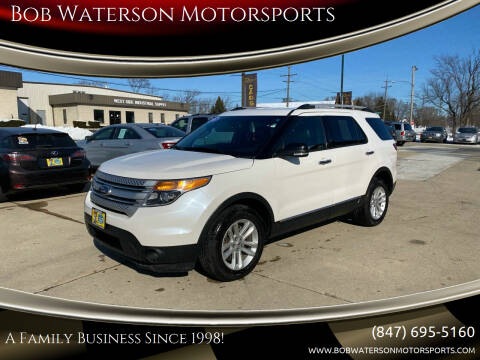 2014 Ford Explorer for sale at Bob Waterson Motorsports in South Elgin IL