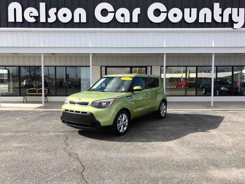 2015 Kia Soul for sale at Nelson Car Country in Bixby OK