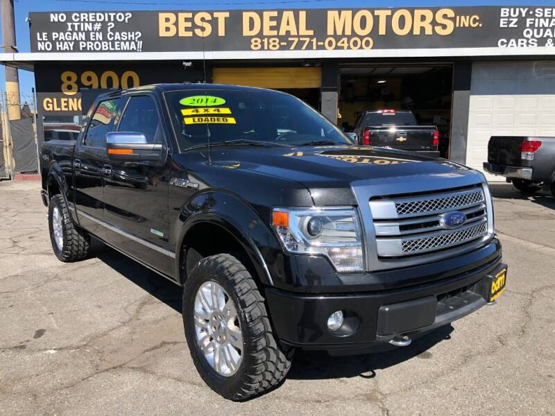 2014 Ford F-150 for sale at BEST DEAL MOTORS  INC. CARS AND TRUCKS FOR SALE in Sun Valley CA