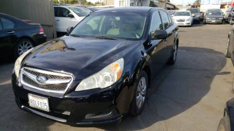 2011 Subaru Legacy for sale at McHenry Auto Sales in Modesto CA