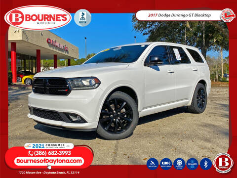 2017 Dodge Durango for sale at Bourne's Auto Center in Daytona Beach FL