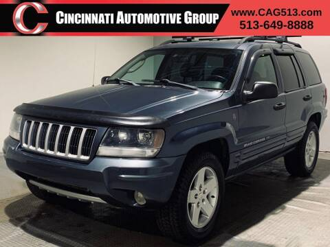 2004 Jeep Grand Cherokee for sale at Cincinnati Automotive Group in Lebanon OH