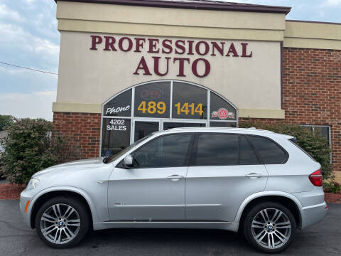 2013 BMW X5 for sale at Professional Auto Sales & Service in Fort Wayne IN