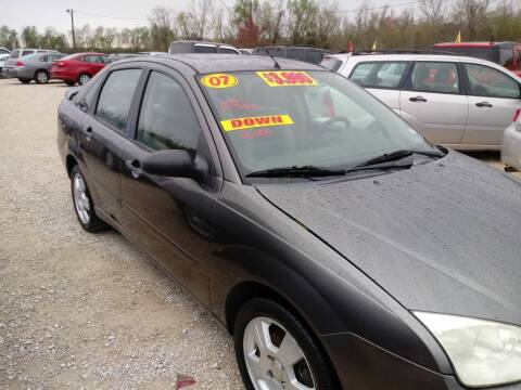 2007 Ford Focus for sale at Finish Line Auto LLC in Luling LA