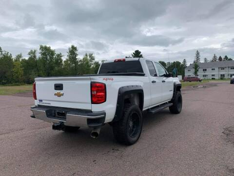 2015 Chevrolet Silverado 2500HD for sale at WB Auto Sales LLC in Barnum MN
