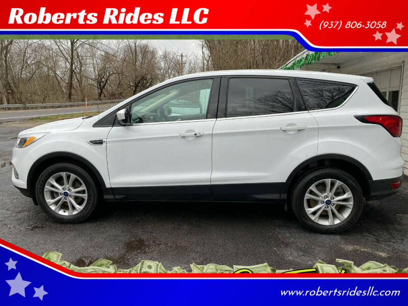 2019 Ford Escape for sale at Roberts Rides LLC in Franklin OH