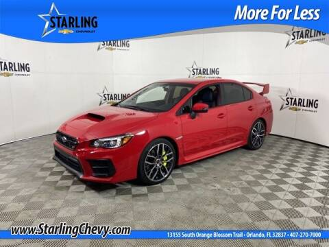 2020 Subaru WRX for sale at Pedro @ Starling Chevrolet in Orlando FL